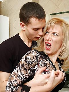 Mom vs Boy Pics